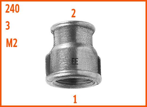 Socket reducing z 240