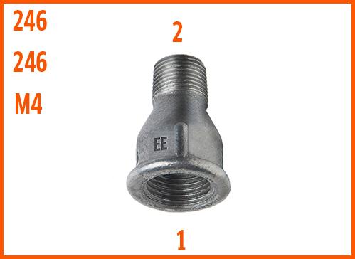 Socket Reducing z 246