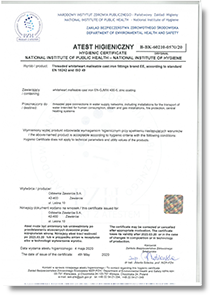 Hygienic Certificate 2020